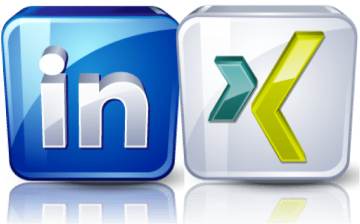 XING und Linkedin Social Business Networks